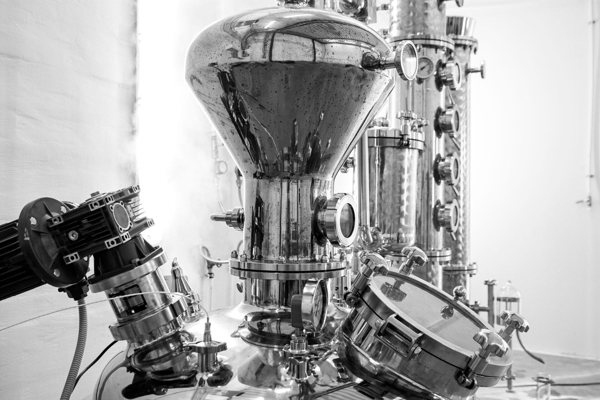 Destilleerimisaparaat Susin